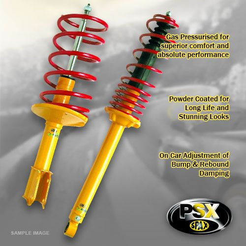 124 (Coupe, Sprot, Special)-9/69-76----Lowering:40mm- Upgrade Suspension Kit; Adjustable Stiffness