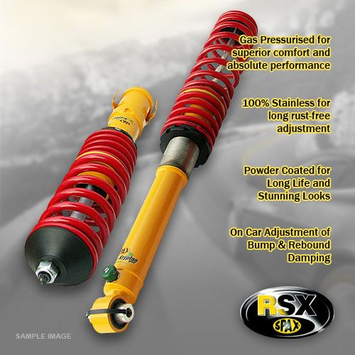 Impreza ()-01-03---4x4-Lowering:25-50 / 25-50mm- Performance Kit; Ride & Height Adjustable Fr&Rr