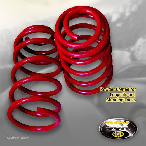 80 (89)-06/91-00-Cabrio-2.6,2.8 6 cyl.--Lowering:35mm- SSX Performance Lowering Spring Kit